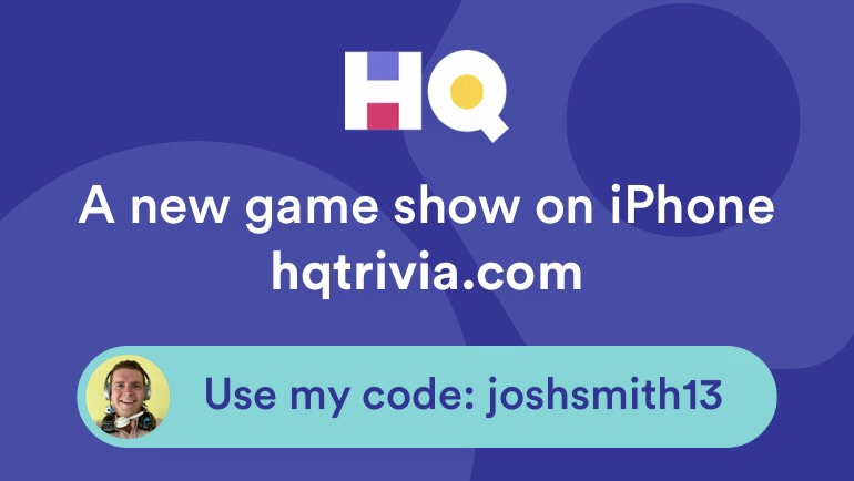 Get free extra lives in HQ Trivia.