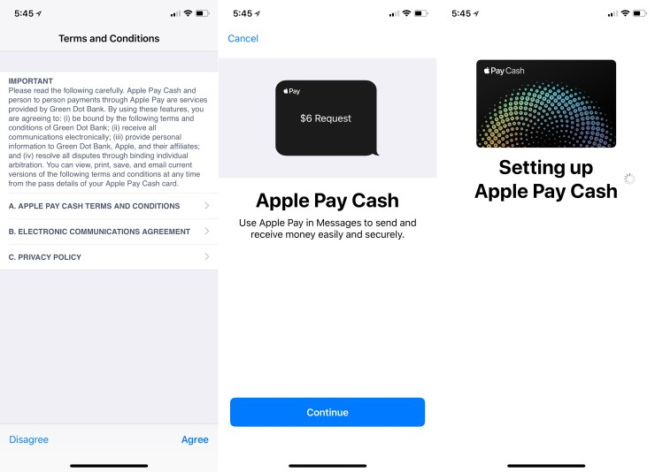How to setup Apple Pay Cash on iPhone.