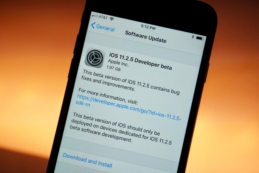 Get Familiar with iOS 11.2.5