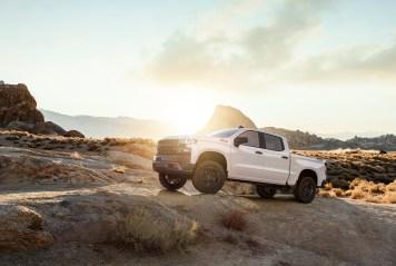 The all-new 2019 Silverado Custom Trailboss (new trim for 2019)