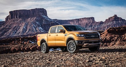This is the 2019 Ford Ranger.