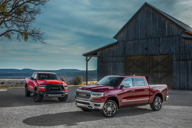 There are multiple 2019 Ram models.