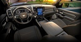 2019 Ram 1500 Limited – Black Interior