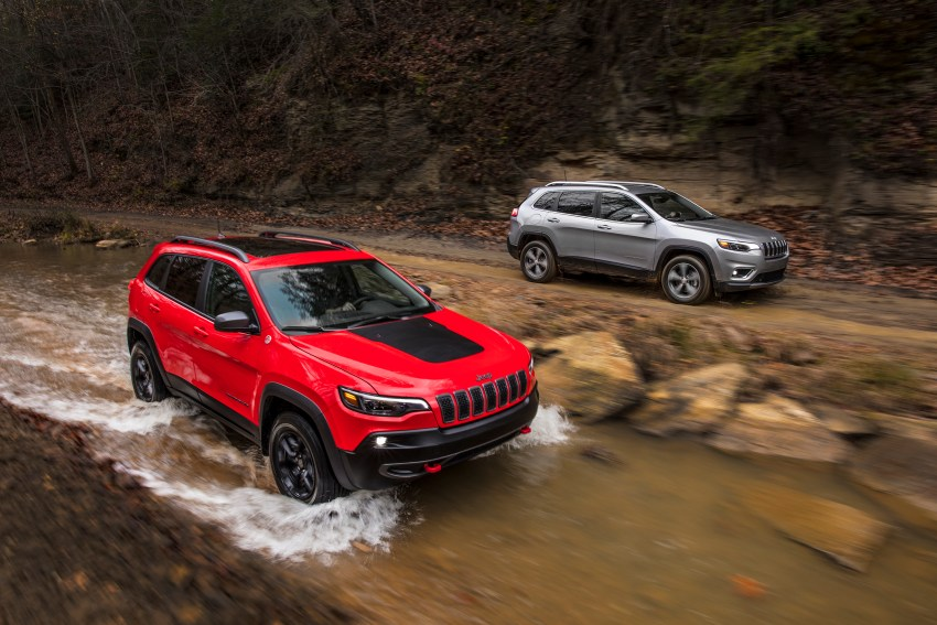 There are many trim levels, but right now Jeep is showing off the Limited and the Trailhawk.