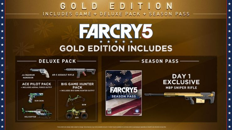 With available deals, the Far Cry 5 Gold Edition is the most tempting.
