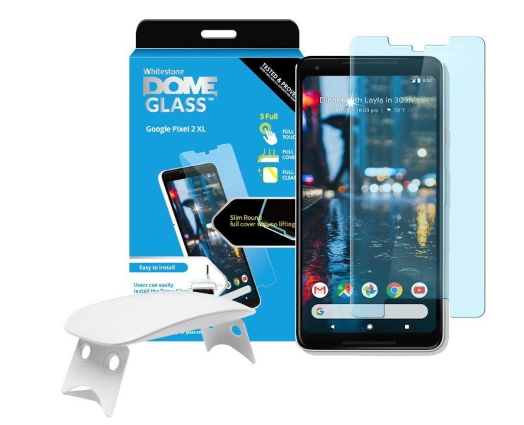 Whitestone Dome Tempered Glass for Pixel 2 XL