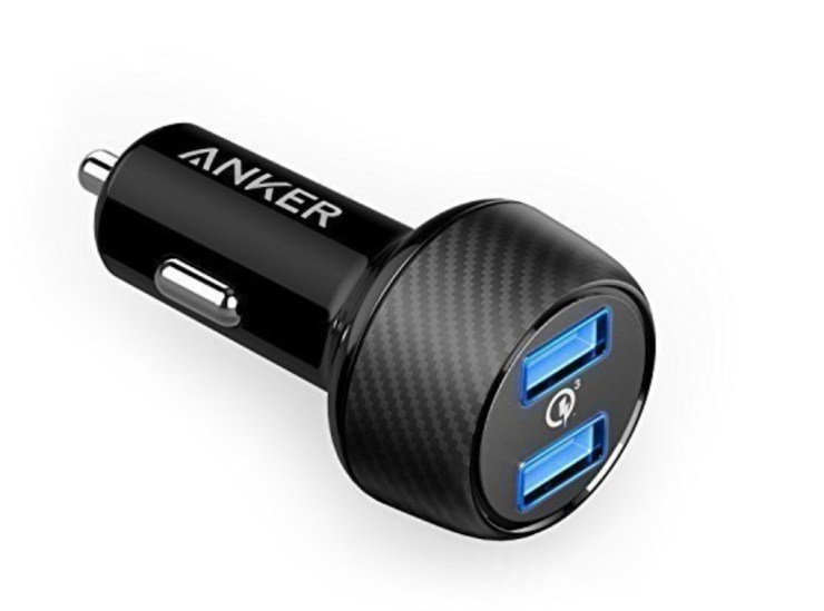 Anker 39w Dual Fast Car Charger