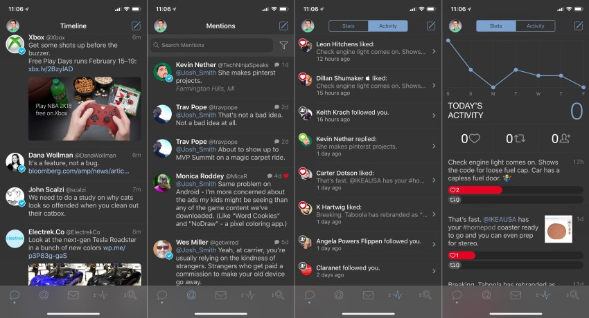 Tweetbot is the best Twitter app for iPhone or iPad.