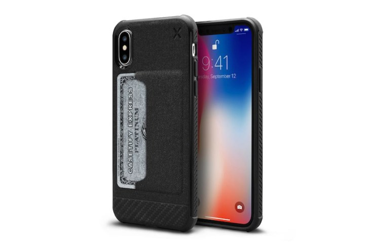 Casetify Essential Woven iPhone X Wallet Case