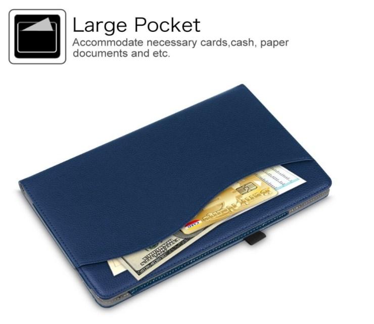 Fintie Premium Folio Case with Pocket