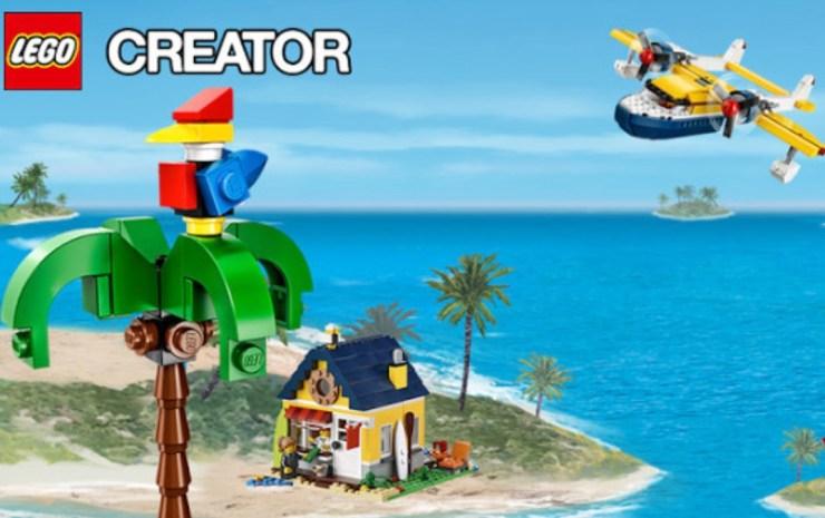 LEGO Series, or LEGO Creator Island