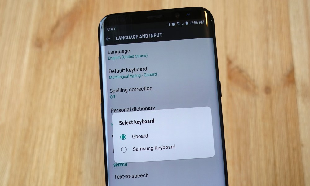 How to Change the Galaxy S9 Keyboard