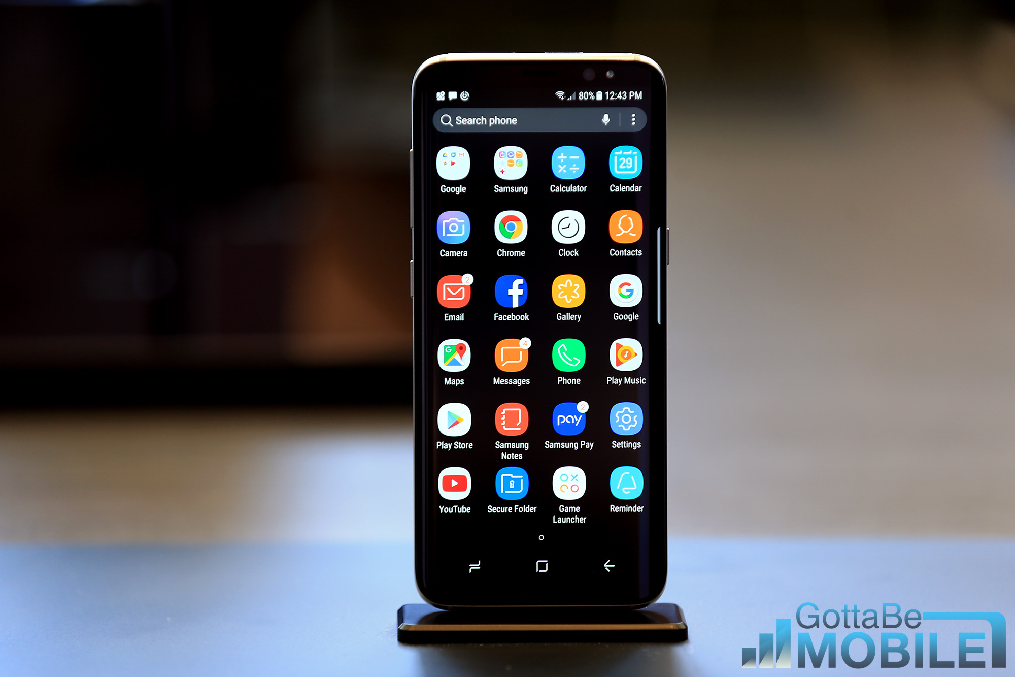 How to Enable Full Screen Apps on Galaxy S9