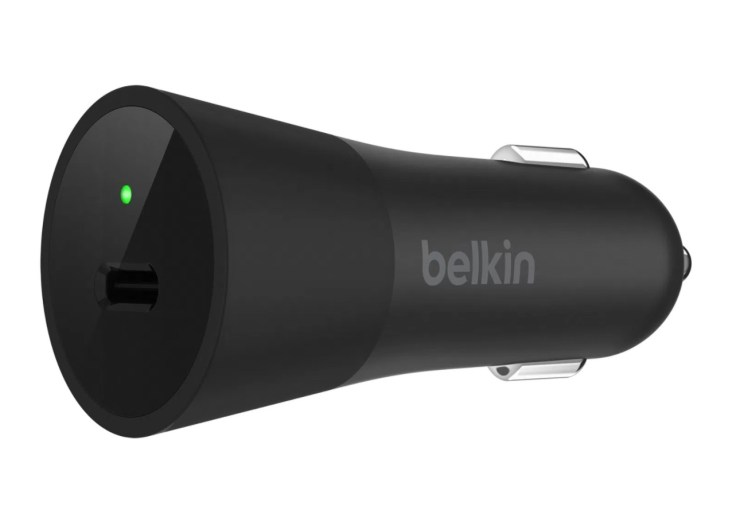 Belkin USB C Car Charger