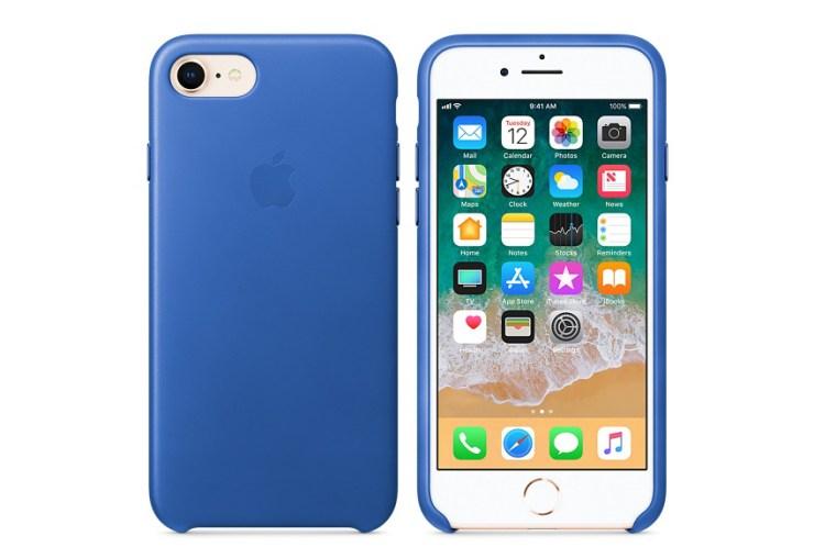 Apple Leather iPhone 8 Case