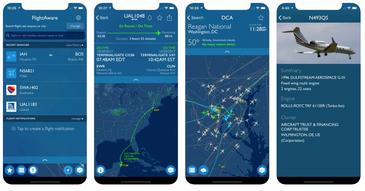 eb56fce1c02d When I want or need to track my flight I typically use FlightAware. It s  consistently the most accurate and the most useful and best of all