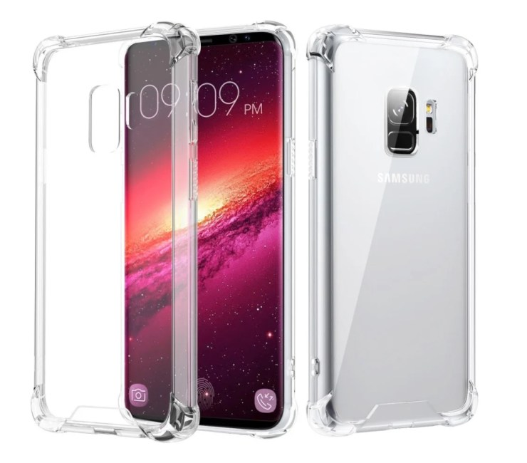 MoKo Crystal Clear Bumper Case