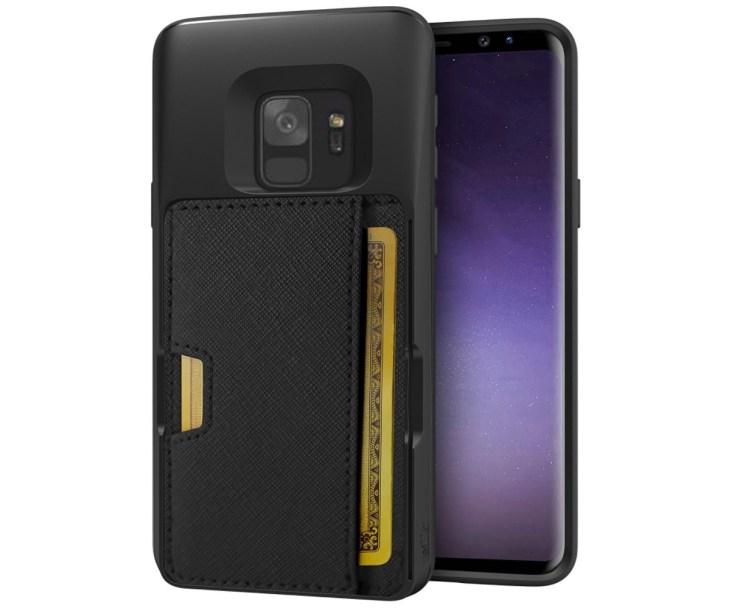 Silk Q-Card Wallet Case & Kickstand ($25)