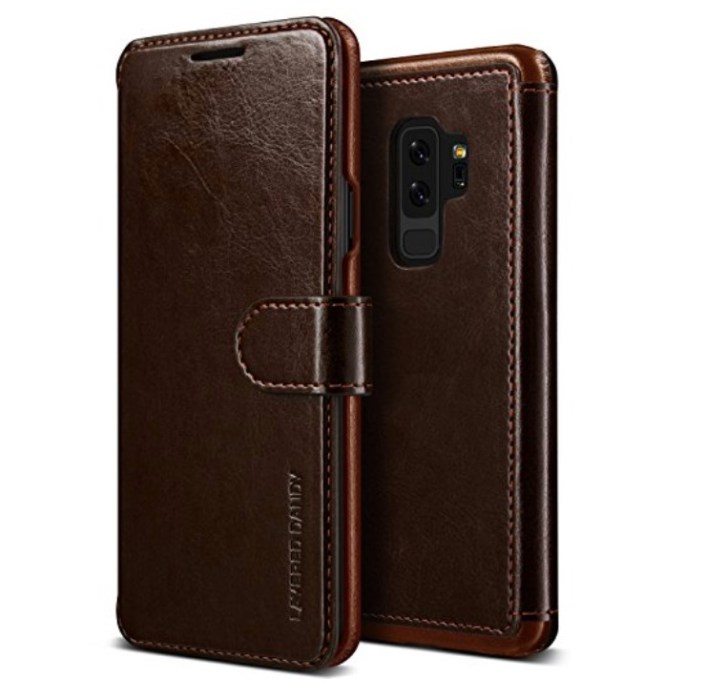 VRS Design Premium PU Leather Wallet Case