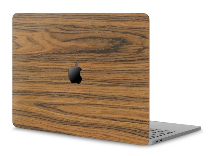 Cover-Up Wood MacBook Pro Skin