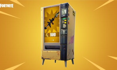 Here's what you can get in Fortnite vending machines and how to use them.