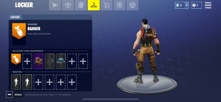 Grab your free Fortnite Battle Royale Back Bling while you can.