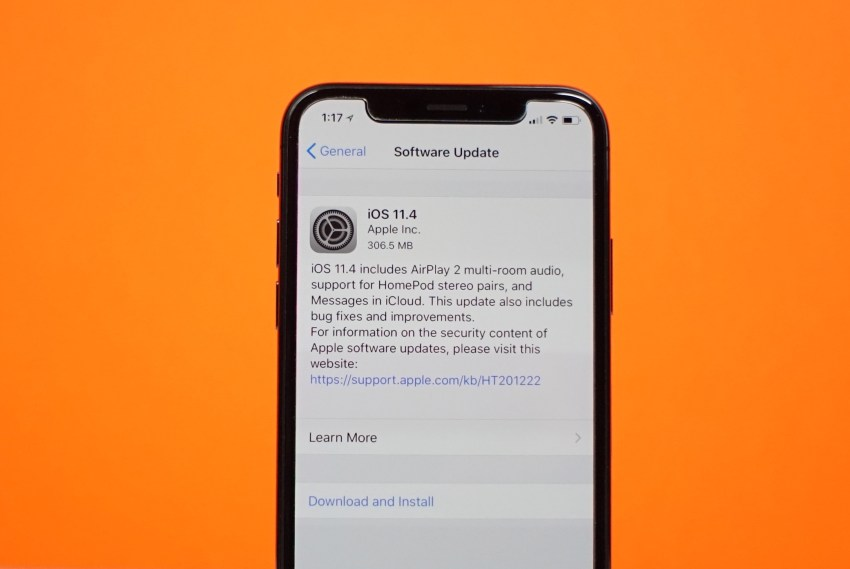 What's New in iOS 11.4
