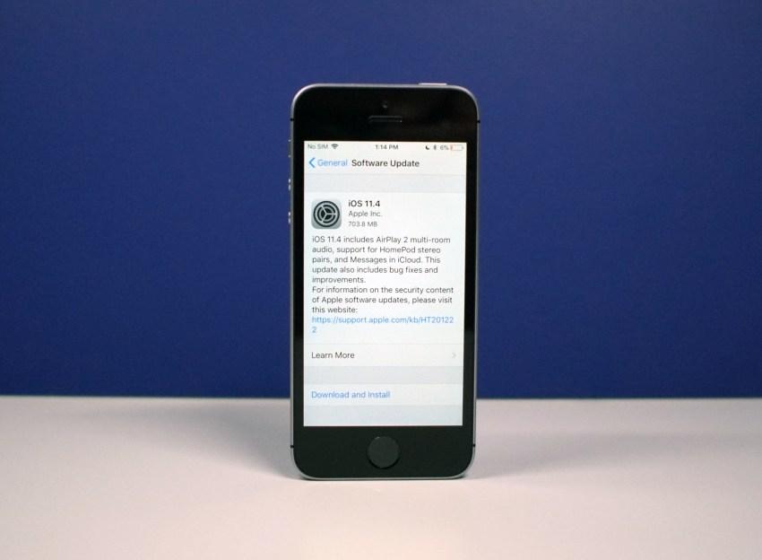 iPhone SE iOS 11.4 Impressions