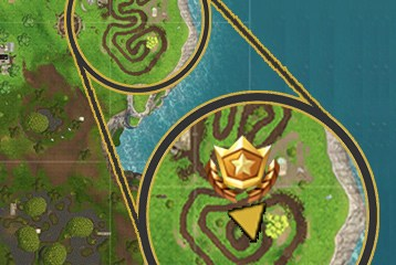 Your cheat to find the reward without the Fortnite treasure map.