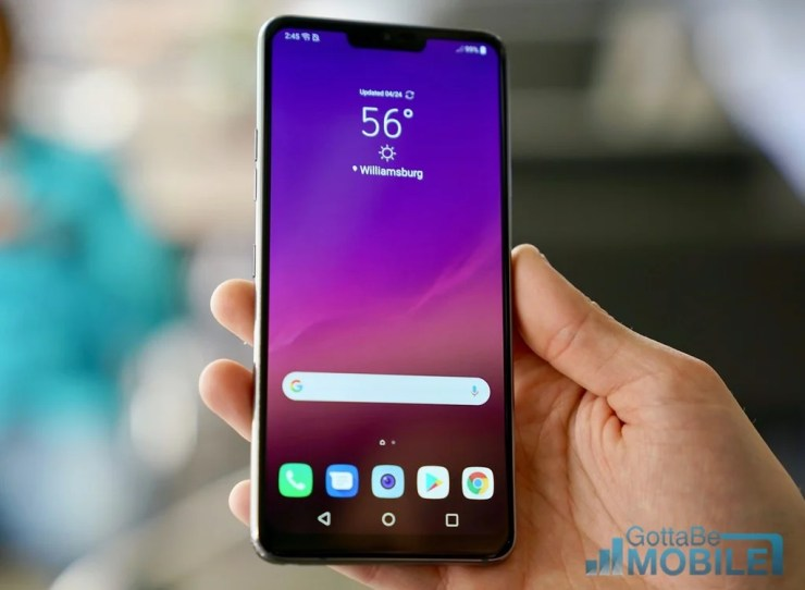 LG G7 vs Pixel 3 XL: Display