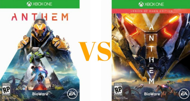 anthem legion of dawn edition pc cheap