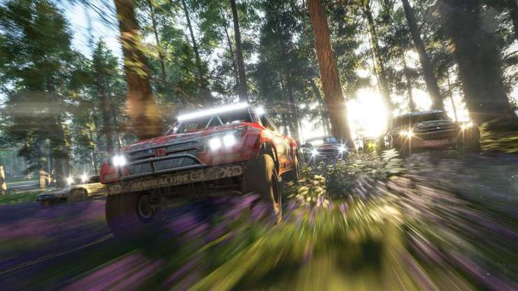 There are over 450 cars in Forza Horizon 4.
