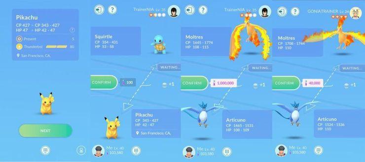 How to Trade a Pokémon in Pokémon GO