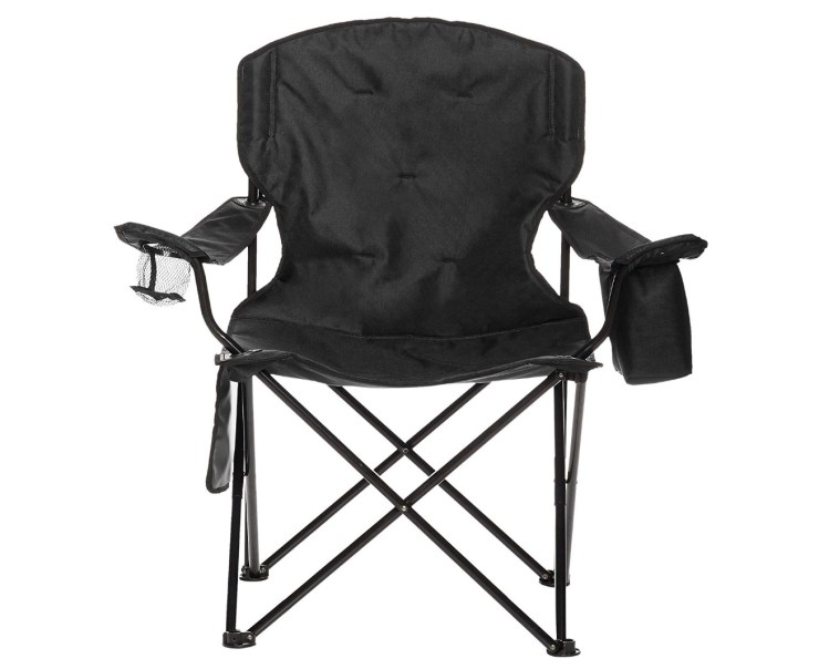 Amazon Basics Camping Chair With 4 Can Cooler