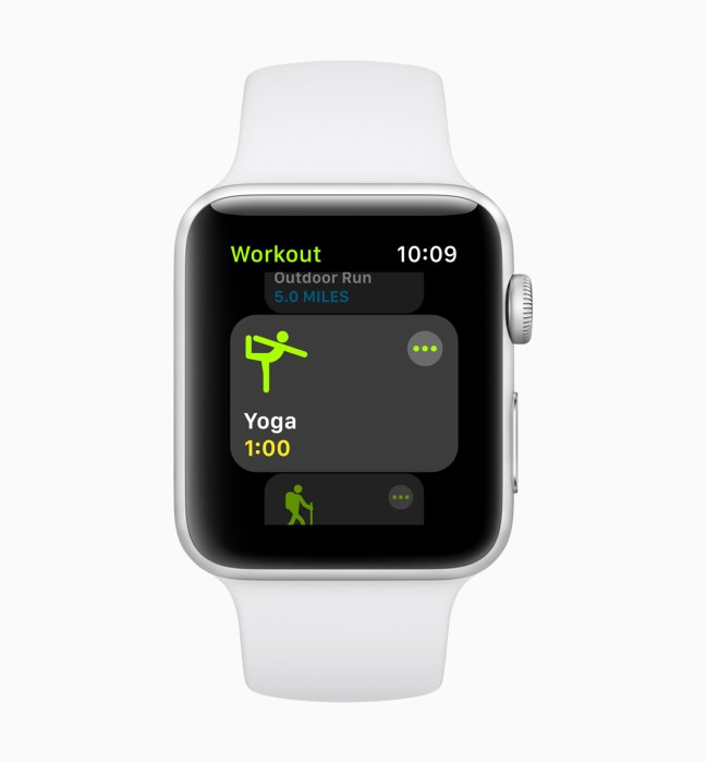 Track many new workouts on watchOS 5.