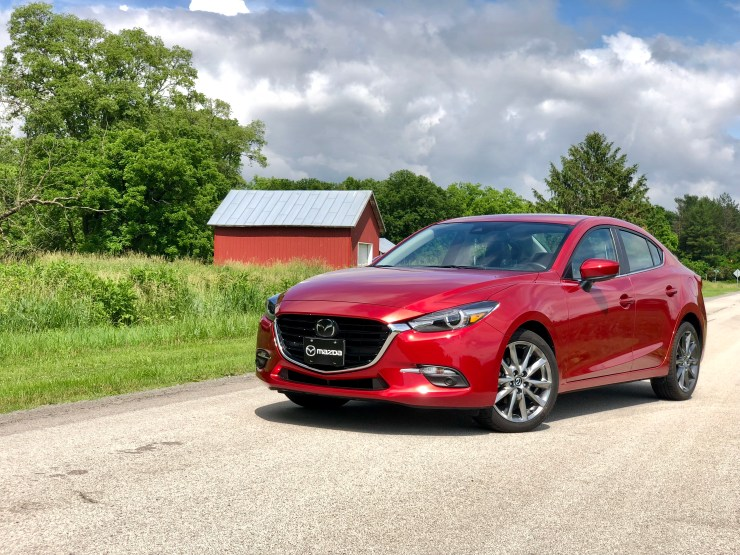 The Mazda 3 is fun to drive and handles nicely.