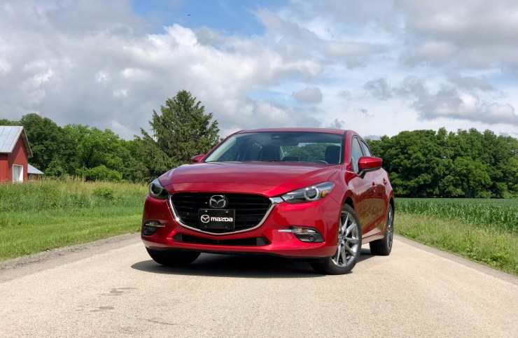 The 2018 Mazda 3 is an excellent choice.