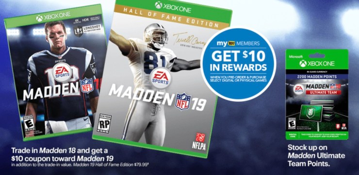 This is the best Madden 19 deal you will find, but it's not the only one.