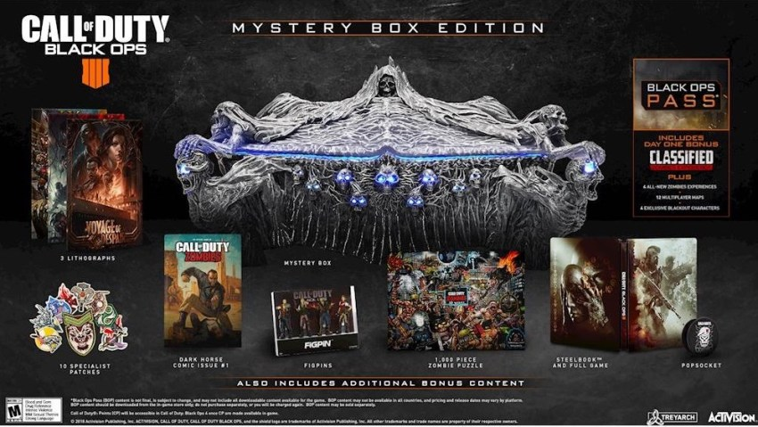 Pre-Order If You Want the Mystery Box