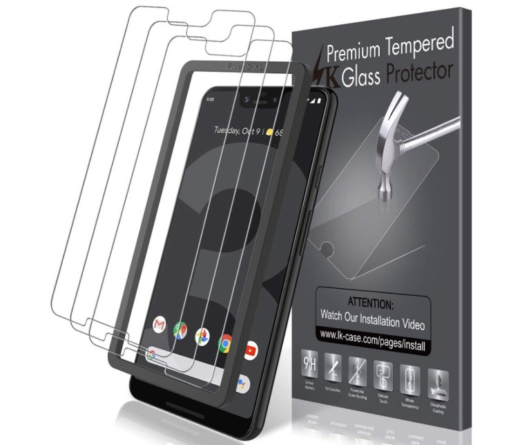 LK Tempered Glass 3-Pack