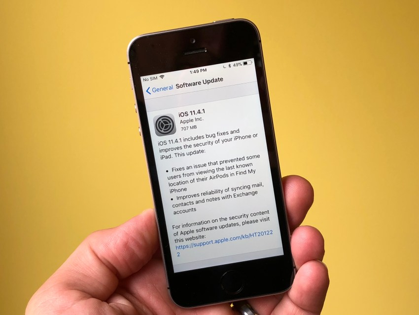 Don't Install iOS 11.4.1 You're Worried About Problems