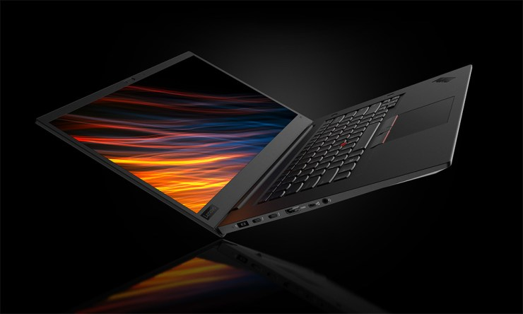 The ultra powerful ThinkPad P1 mobile workstation.