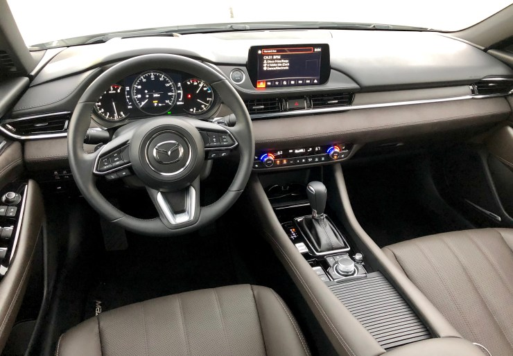 The Signature trim interior looks more like an entry level luxury car.
