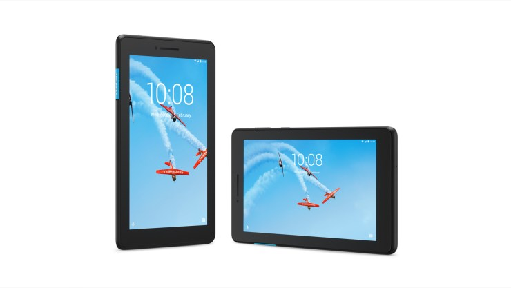 The Lenovo Tab E7 is an entry level Android tablet.