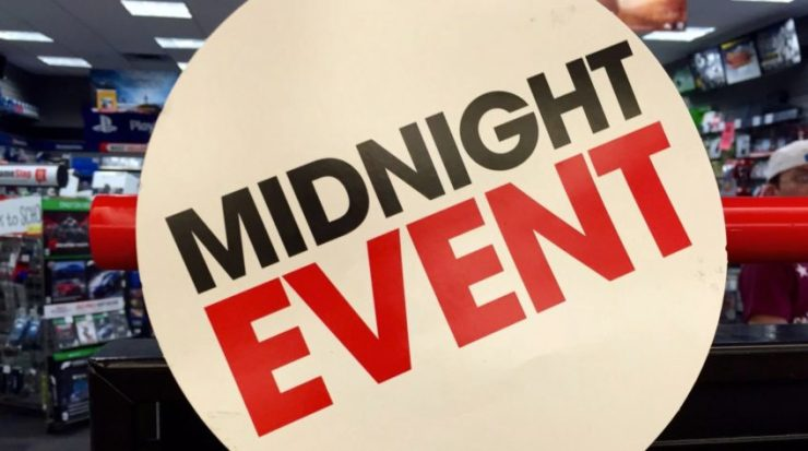 Where to for Black Ops 4 midnight release date events.