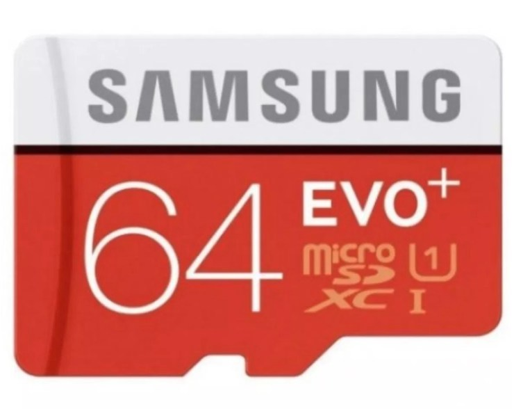 Samsung 64GB Evo+ MicroSD Card
