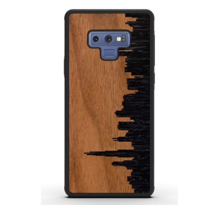 CARVED Note 9 Custom Wood Cases