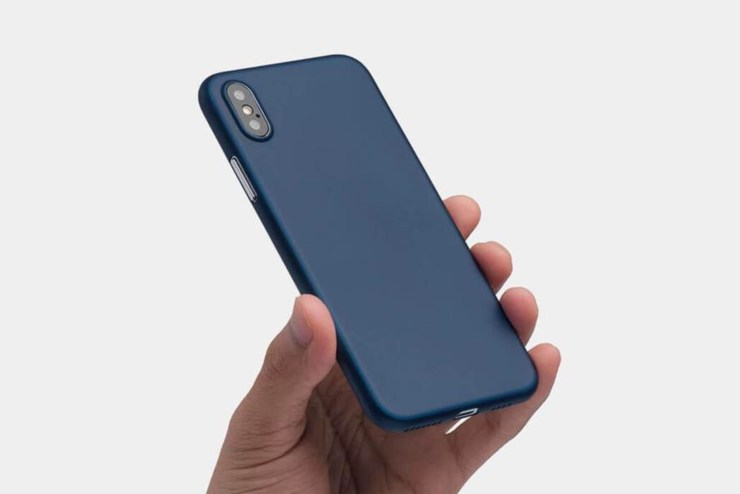 Super thin Totallee iPhone XS Max case.