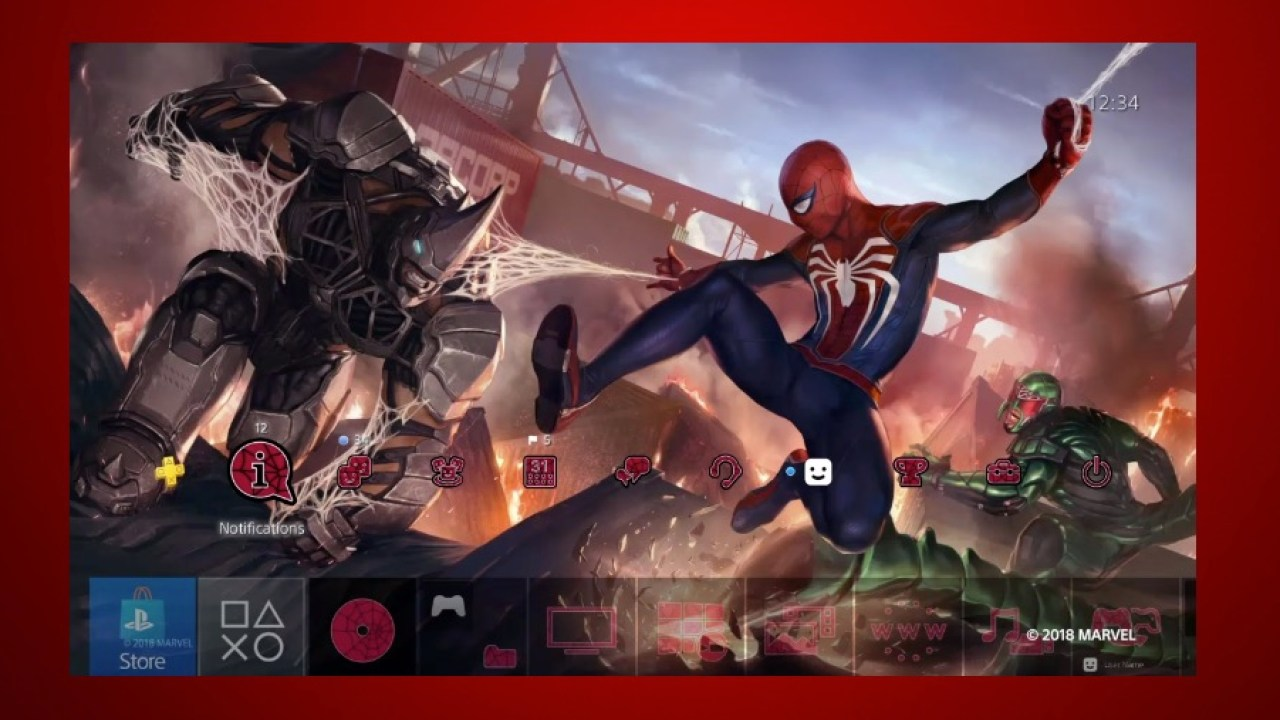 cheaper 70ffa 4d3a1 Grab Your Free Spider-Man PS4 Theme Before It's Gone