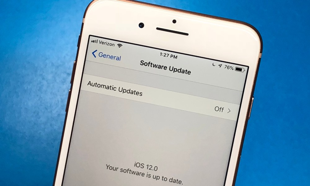 How to Downgrade from iOS 12 4 1